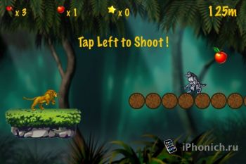 Игра на iPhone Jungle Runner