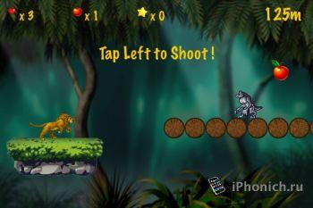 Игра на iPhone Jungle Runner