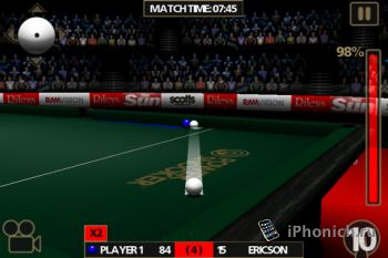 Power Snooker для iPhone/iPad