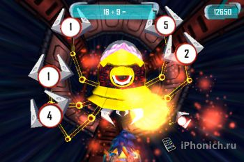 MathBlaster HyperBlast - математическая игра
