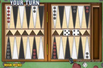 Backgammon Deluxe - Нарды для iPhone и iPad