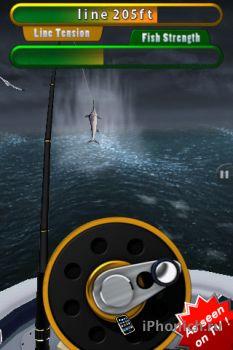 Flick Fishing игра для iPhone