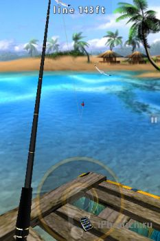 Flick Fishing игра для iPhone