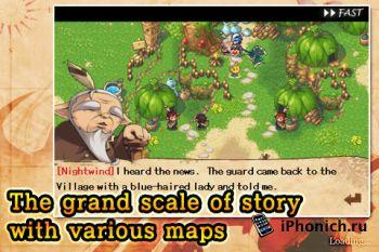 Игра на iPhone Wild Frontier