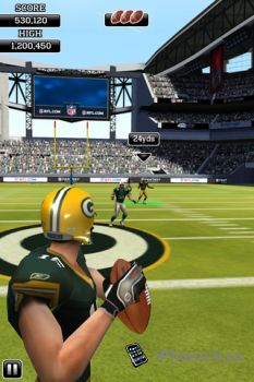 NFL Flick Quarterback для iPhone
