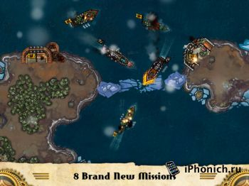 Crimson: Steam Pirates для iPhone
