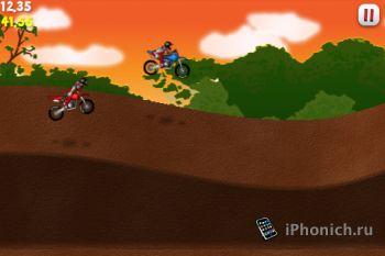 Moto X Racer на iPhone