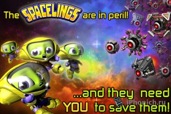Игра для iPhone/iPad Spacelings