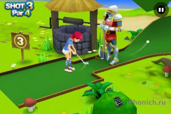 3D Beach Mini Golf для iPhone