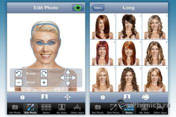 Hairstyle для iPhone