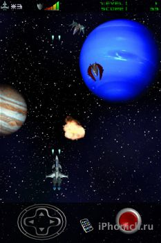 Space BreakOut на iPhone