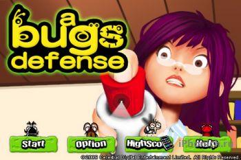 Игра на iPhone a bugs defense