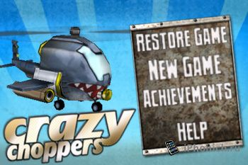 Игра на iPhone/iPad Crazy Choppers