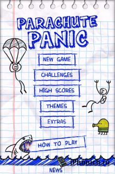 Parachute Panic HD игра для iPhone/iPad