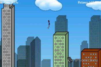 Игра на iPhone Rope'n'Fly 2