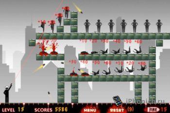 Игра на iPhone Bounce Bullet Pro
