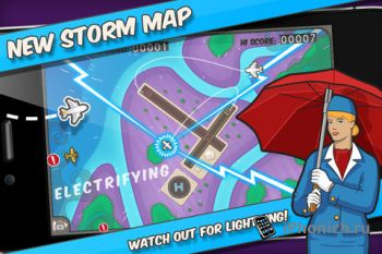 Игра для iPhone/iPad Flight Control