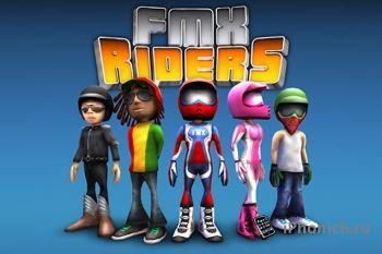 FMX Riders - забавный аркадный симулятор мотокросса