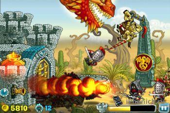 Игра для iPhone Knights Onrush