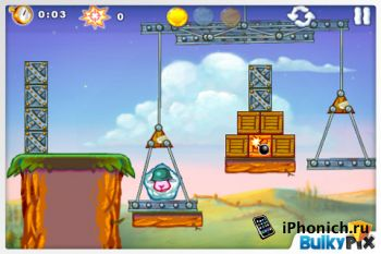 Игра на iPhone Saving Private Sheep