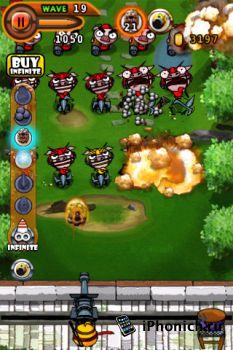 Ninja Chicken 2:shoot'em up на iPhone