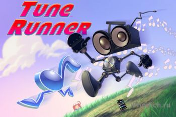 Игра на iPhone Tune Runner Fusion