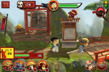 Samurai vs Zombies для iPhone