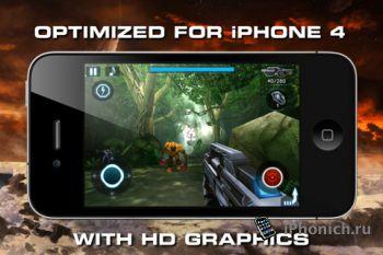 Игра на iPhone N.O.V.A. - Near Orbit Vanguard Alliance