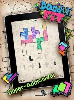 Игра на iPhone/iPad Doodle Fit