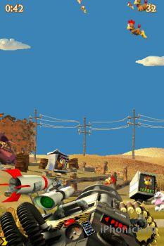 Crazy Chicken Deluxe – Grouse Hunting - Уничтожайте всех куриц в этой игре