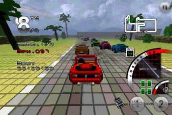3D Pixel Racing для iPhone/iPad