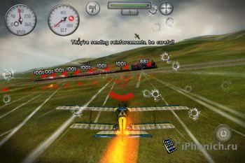 Sky Gamblers: Rise Of Glory для iPhone/iPad
