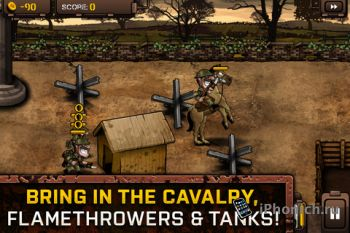 Trenches II для iPhone/iPad