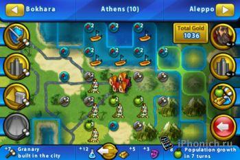 Стратегия Civilization Revolution iPhone и iPad