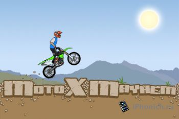 Игра на iPhone Moto X Mayhem