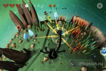 Get Outta My Galaxy! HD - экшен для iPhone и iPad с элементами пазлов