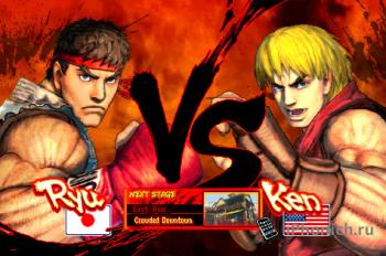 Игра на iPhone STREET FIGHTER IV