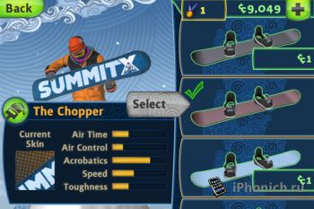 SummitX Snowboarding HD для iPhone и iPad