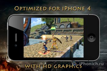 Игра для iPhone Hero of Sparta II