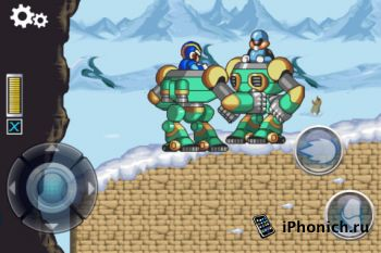 Игра для iPhone MEGA MAN X (+iPad)