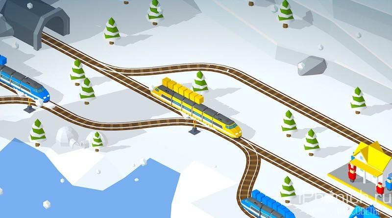 Conduct THIS! - головоломка, в которой нужно управлять пассажирскими поездами