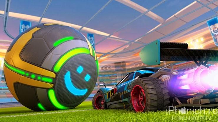 Turbo League - гоночная игра с элементами футбола. Клон популярной Rocket League.