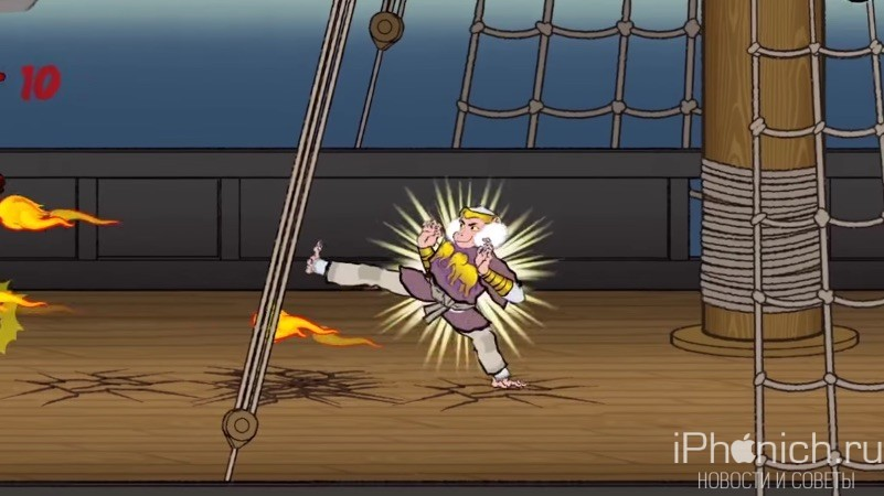 Edo Superstar - Звериный файтинг с интересной графикой