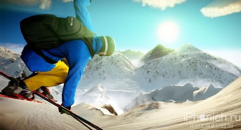 Just Snowboarding - бесплатный симулятор сноуборда с поддержкой 3D Touch
