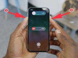 Как выключить iPhone X