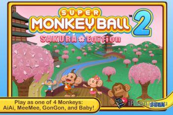 Super Monkey Ball 2: Sakura Edition (iPhone,iPad)