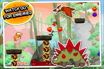 Dino Rush игра для iPhone