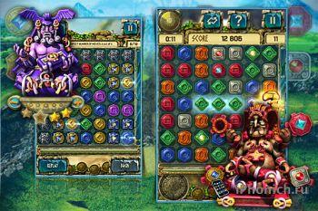 Сокровища Монтесумы 3 - красочная и динамичная головоломка жанра «три в ряд»