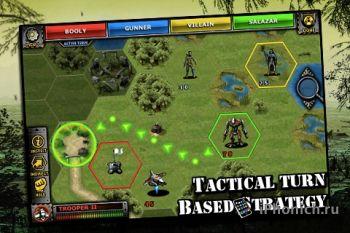 Legion of the Damned - сложная военная игра