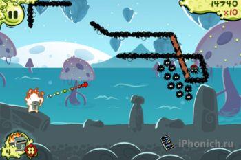 Snoticles - Одна из крутых игр App Store